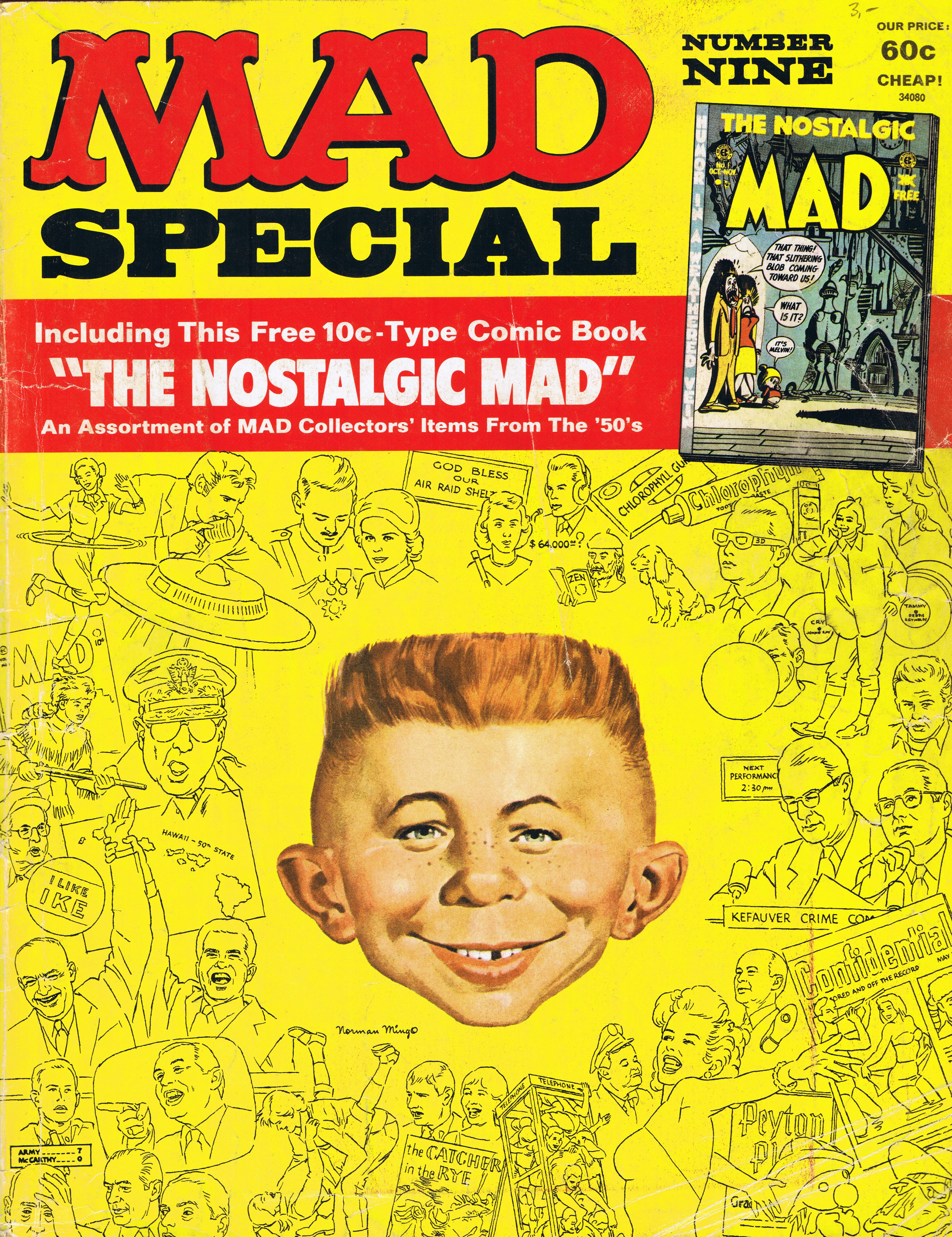 MAD Special #9 • USA • 1st Edition - New York