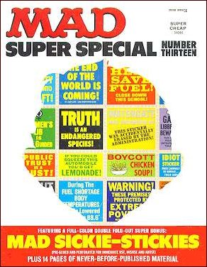 MAD Super Special #13 • USA • 1st Edition - New York