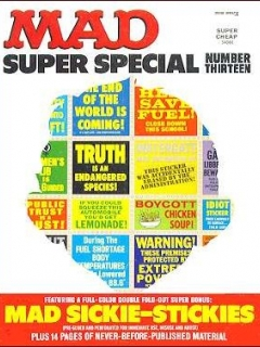 Go to MAD Super Special #13 • USA • 1st Edition - New York