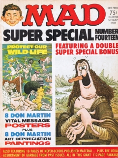 Go to MAD Super Special #14 • USA • 1st Edition - New York