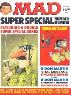 Go to MAD Super Special #17 • USA • 1st Edition - New York