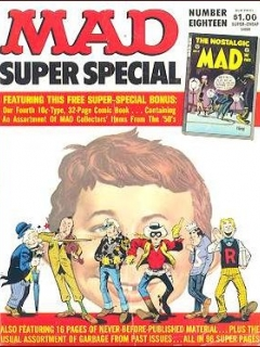 Go to MAD Super Special #18 • USA • 1st Edition - New York