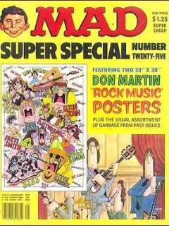 MAD Super Special #25 • USA • 1st Edition - New York