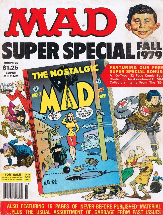 MAD Super Special #28 • USA • 1st Edition - New York
