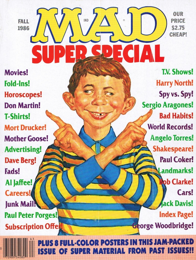 MAD Super Special #56 • USA • 1st Edition - New York