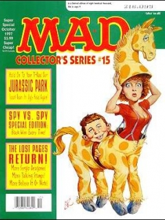 Go to MAD Super Special #124 • USA • 1st Edition - New York