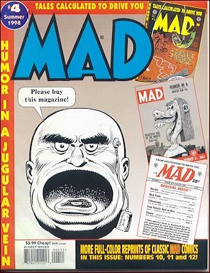 Tales calculated to drive you MAD #4 • USA • 1st Edition - New York