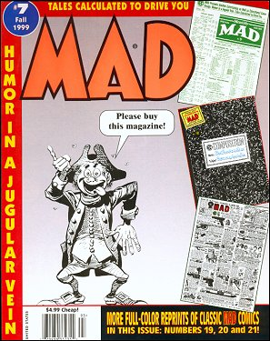 Tales calculated to drive you MAD #7 • USA • 1st Edition - New York