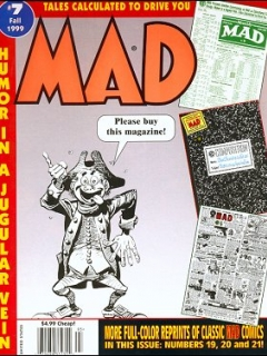 Go to Tales calculated to drive you MAD #7 • USA • 1st Edition - New York