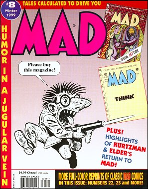 Tales calculated to drive you MAD #8 • USA • 1st Edition - New York
