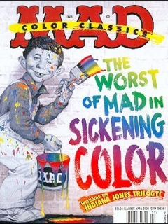 Go to MAD Color Classics #1 • USA • 1st Edition - New York