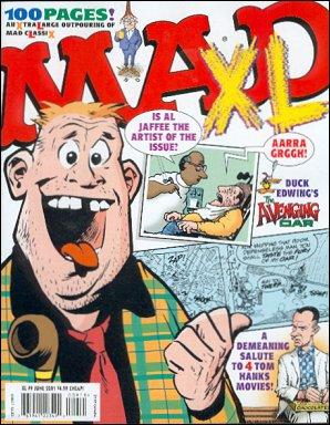 MAD XL #9 • USA • 1st Edition - New York
