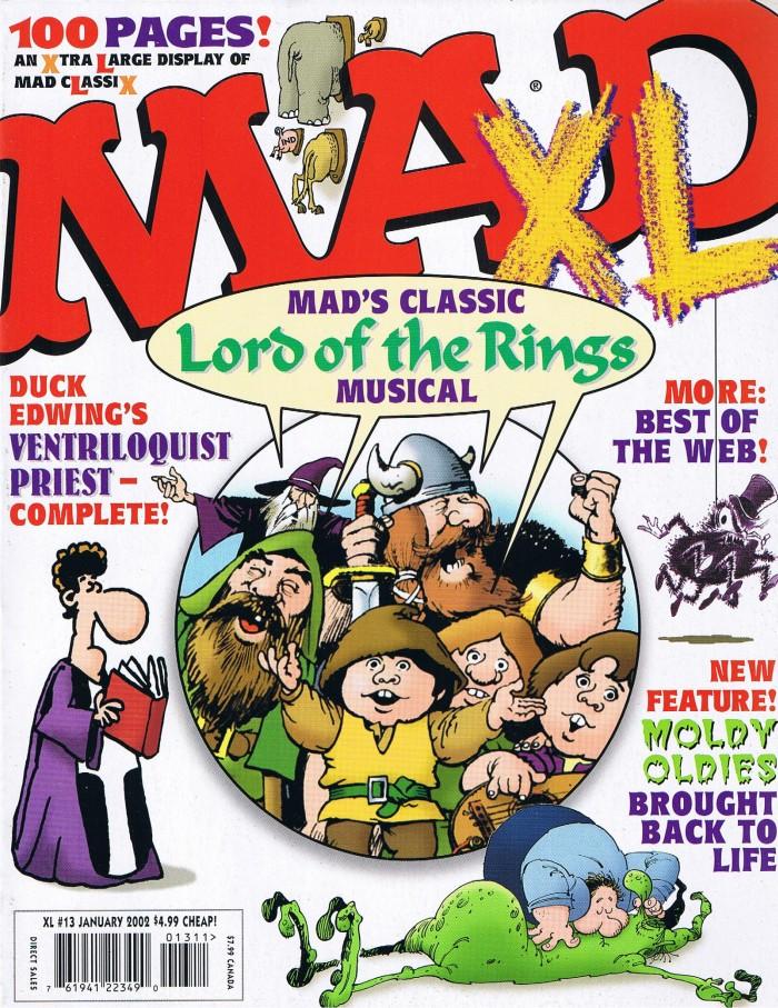 MAD XL #13 • USA • 1st Edition - New York