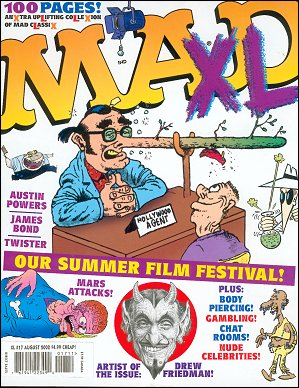 MAD XL #17 • USA • 1st Edition - New York