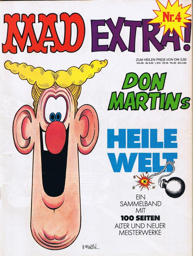 MAD Extra #4 • Germany • 1st Edition - Williams