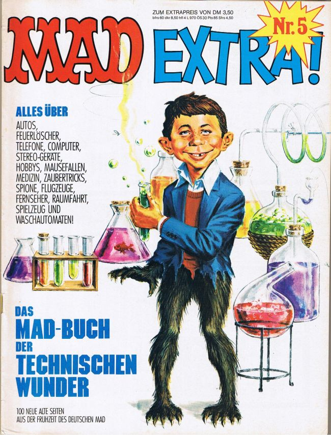 MAD Extra #5 • Germany • 1st Edition - Williams