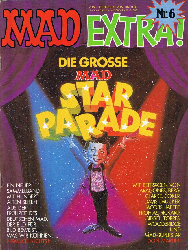 MAD Extra #6 • Germany • 1st Edition - Williams