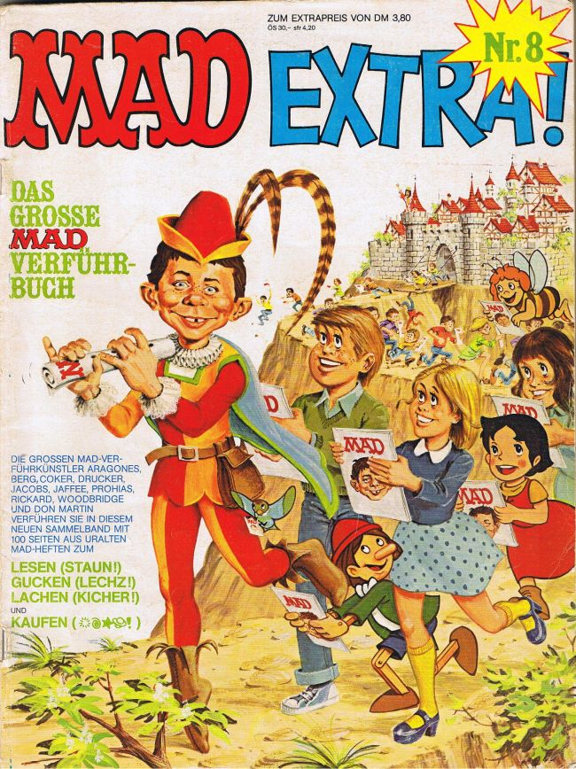 MAD Extra #8 • Germany • 1st Edition - Williams