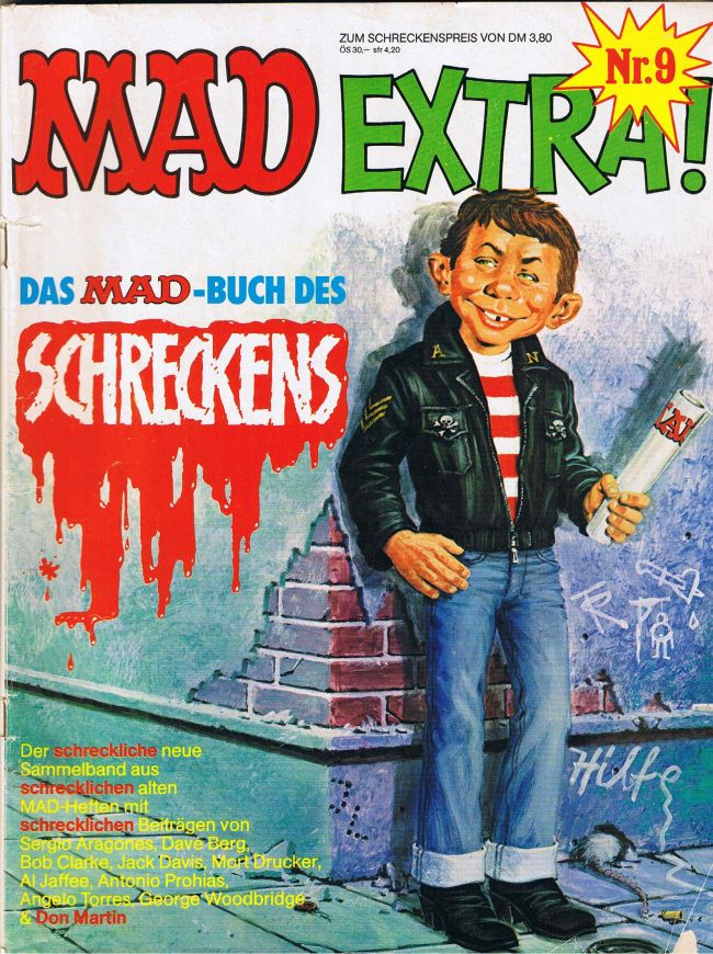 MAD Extra #9 • Germany • 1st Edition - Williams