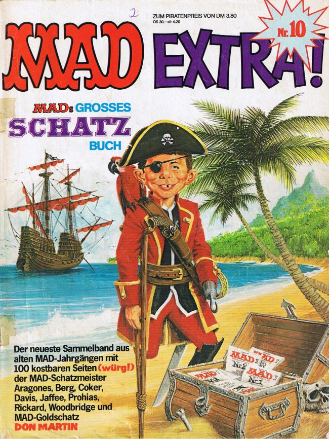 MAD Extra #10 • Germany • 1st Edition - Williams