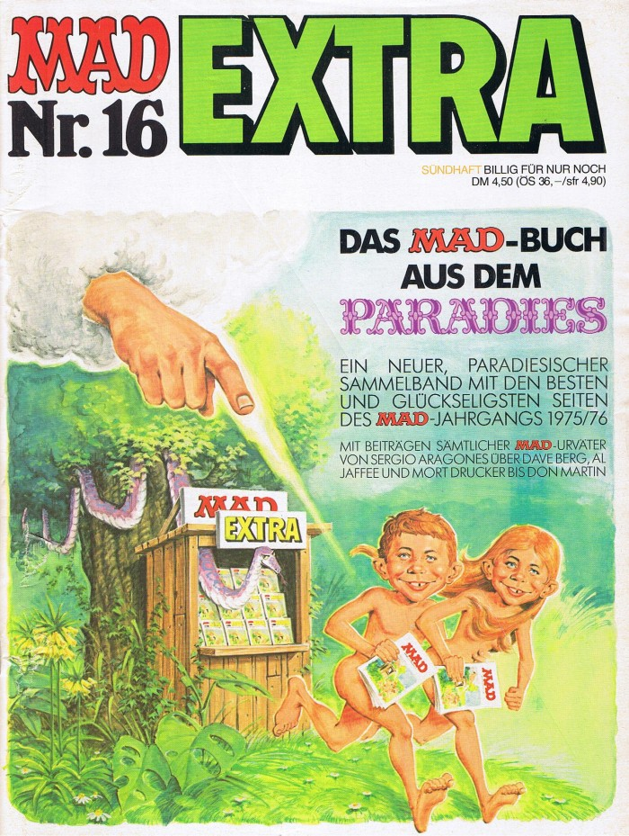MAD Extra #16 • Germany • 1st Edition - Williams