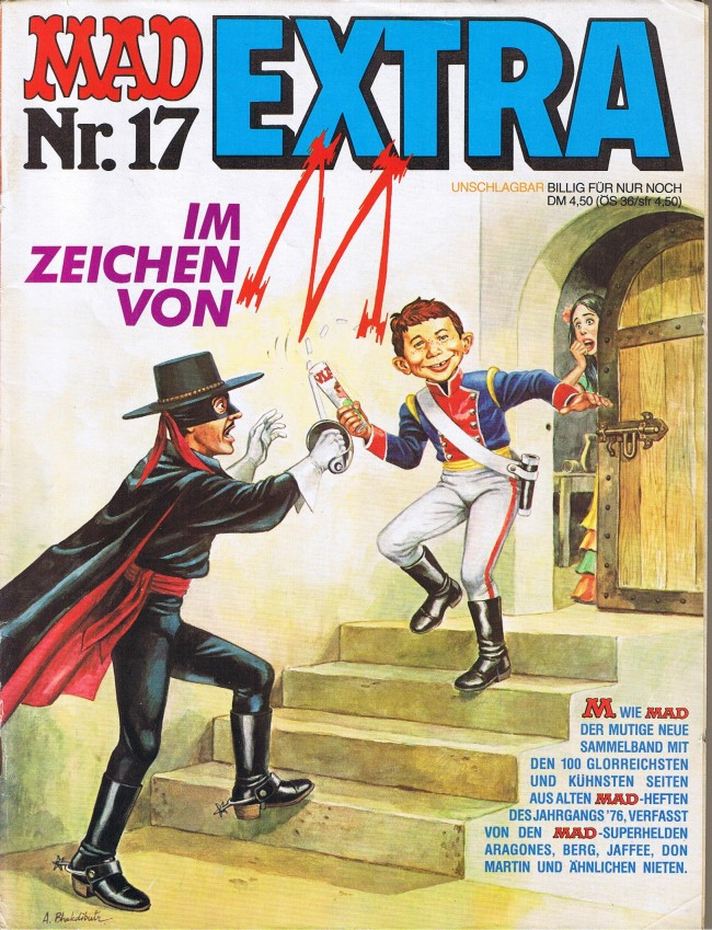 MAD Extra #17 • Germany • 1st Edition - Williams