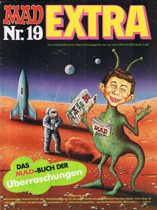 MAD Extra #19 • Germany • 1st Edition - Williams