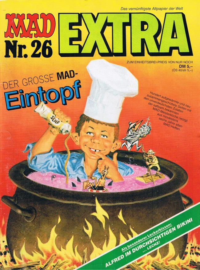 MAD Extra #26 • Germany • 1st Edition - Williams