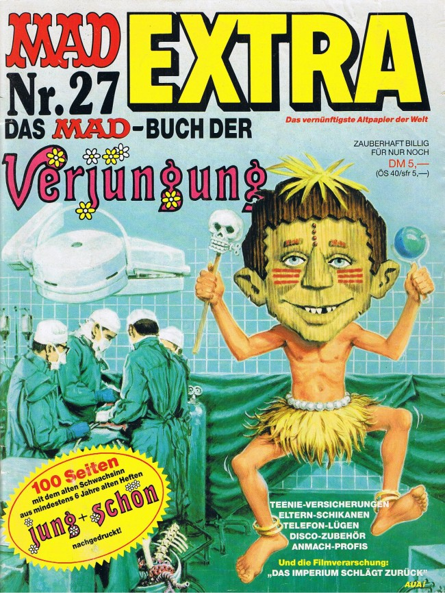 MAD Extra #27 • Germany • 1st Edition - Williams