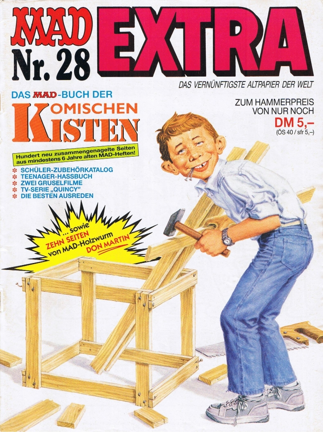 MAD Extra #28 • Germany • 1st Edition - Williams