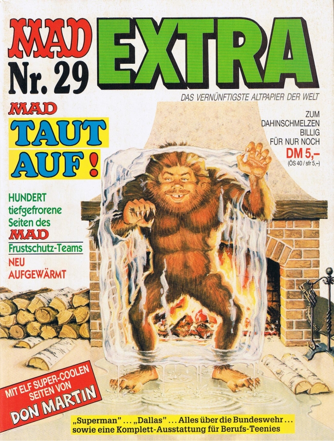 MAD Extra #29 • Germany • 1st Edition - Williams