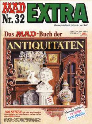 MAD Extra #32 • Germany • 1st Edition - Williams