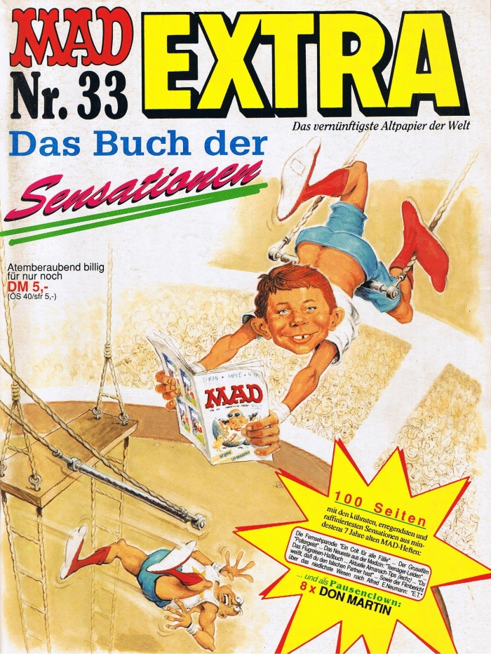 MAD Extra #33 • Germany • 1st Edition - Williams