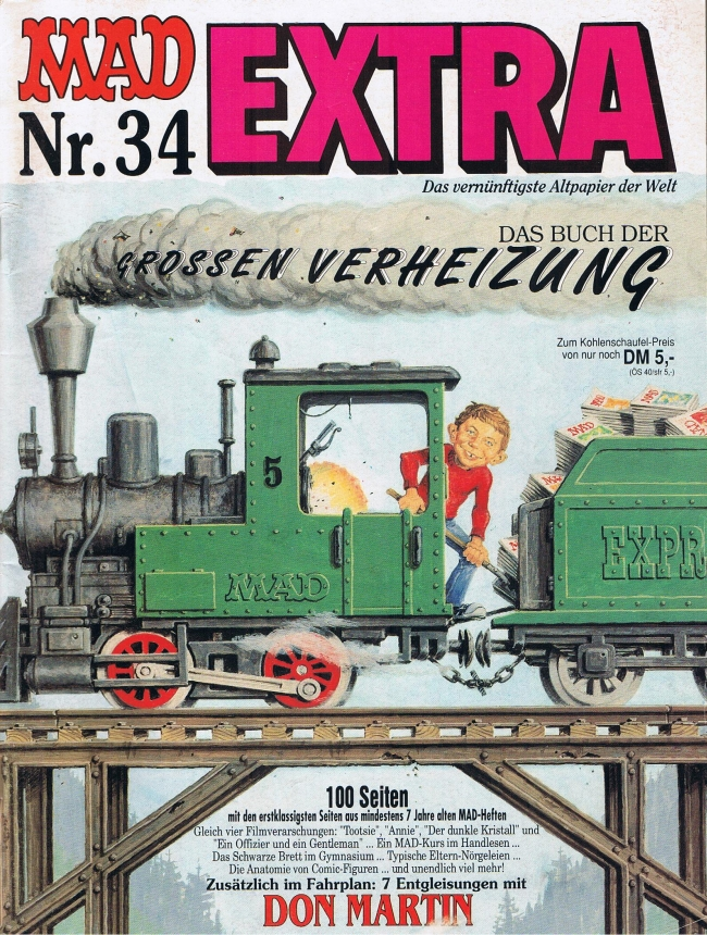 MAD Extra #34 • Germany • 1st Edition - Williams
