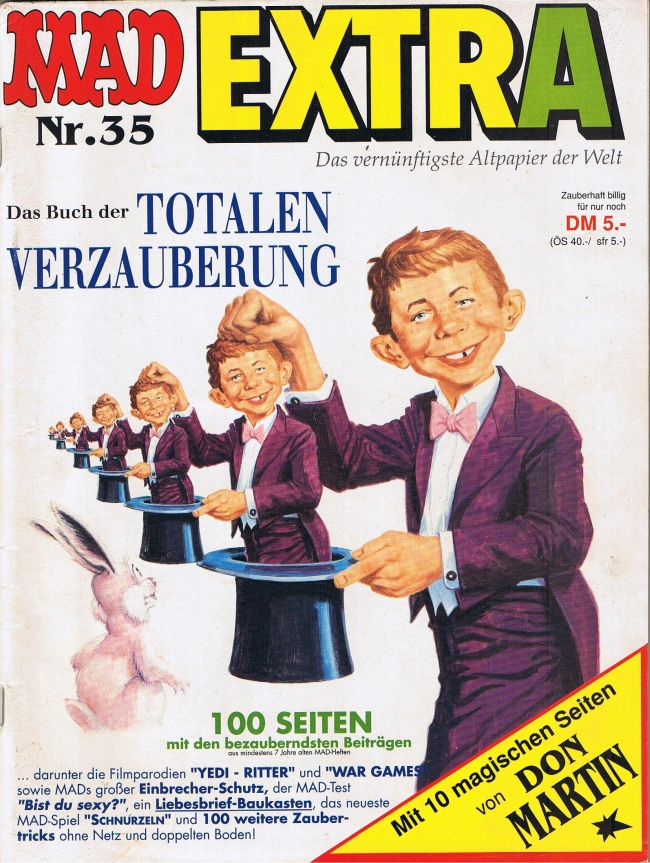 MAD Extra #35 • Germany • 1st Edition - Williams