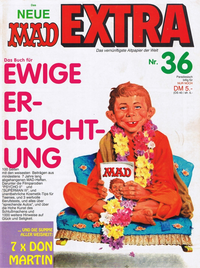 MAD Extra #36 • Germany • 1st Edition - Williams