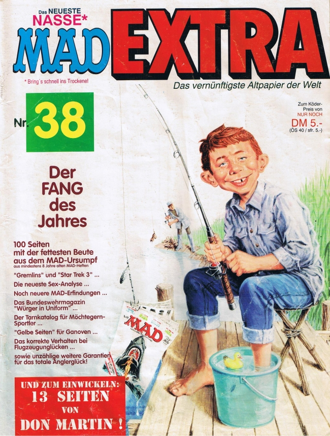 MAD Extra #38 • Germany • 1st Edition - Williams