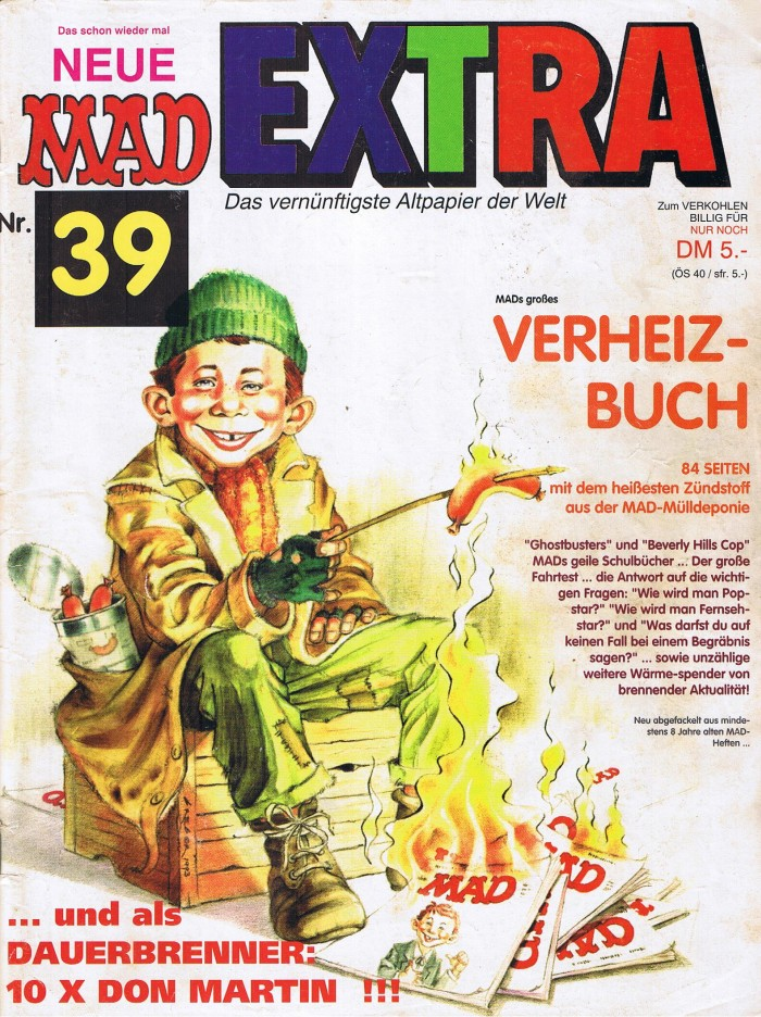 MAD Extra #39 • Germany • 1st Edition - Williams