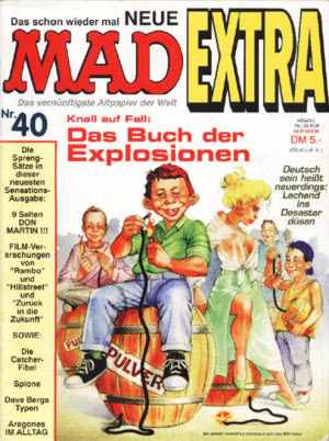 MAD Extra #40 • Germany • 1st Edition - Williams