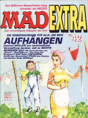 MAD Extra #42 • Germany • 1st Edition - Williams