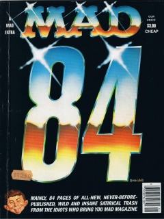 Go to MAD 84 • USA • 1st Edition - New York