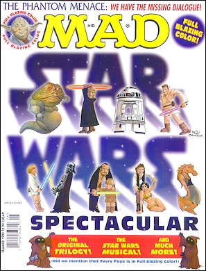 MAD Star Wars Spectacular • USA • 1st Edition - New York