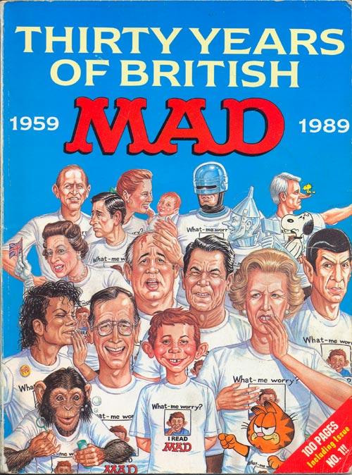 30 years of british MAD • Great Britain