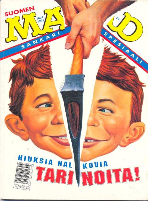 Sankarispesiaali #4 • Finland • 2nd Edition - Semic