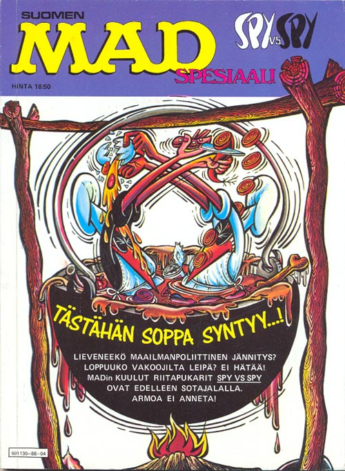 Spy vs Spy Spesiaali • Finland • 2nd Edition - Semic