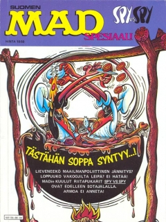 Go to Spy vs Spy Spesiaali • Finland • 2nd Edition - Semic