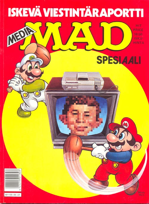 Media MAD Spesiaali • Finland • 2nd Edition - Semic