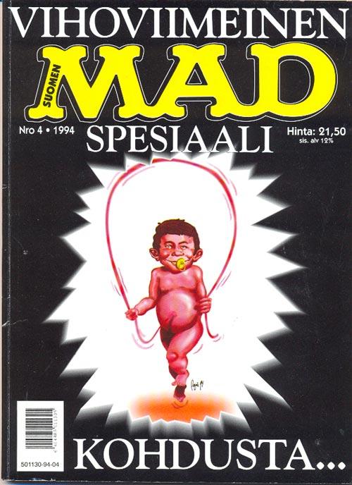 Vihoviimeinen MAD-spesiaali #4 • Finland • 2nd Edition - Semic