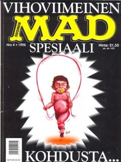 Go to Vihoviimeinen MAD-spesiaali #4 • Finland • 2nd Edition - Semic