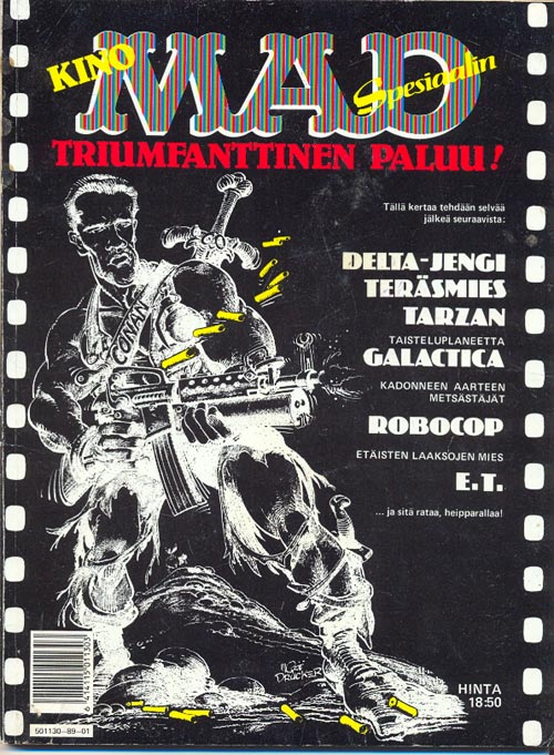 KinoMADin triumfanttinen paluu • Finland • 2nd Edition - Semic